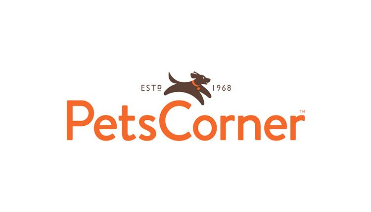Pets Corner logo on white background