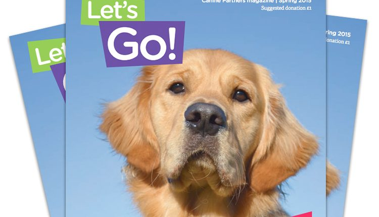 Canine Partners 2015 Let's Go Spring magazine