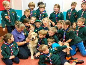 Billingshurst cubs meet Jenson