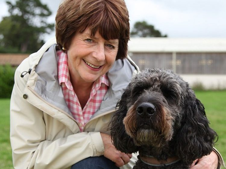 Pam Ayres and Doyle