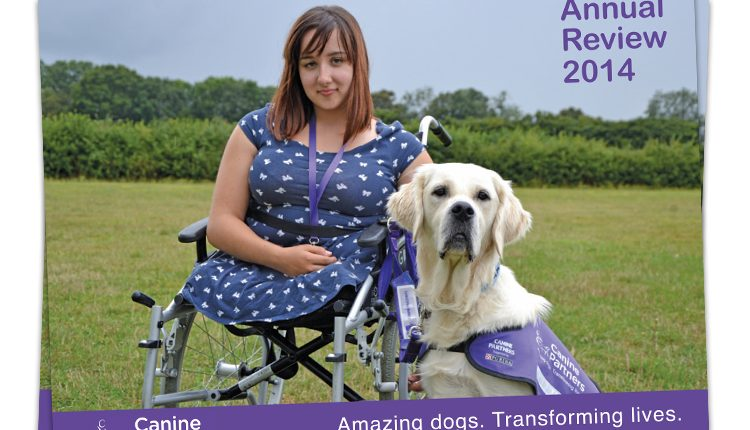 Canine Partners Annual Review cover 2014