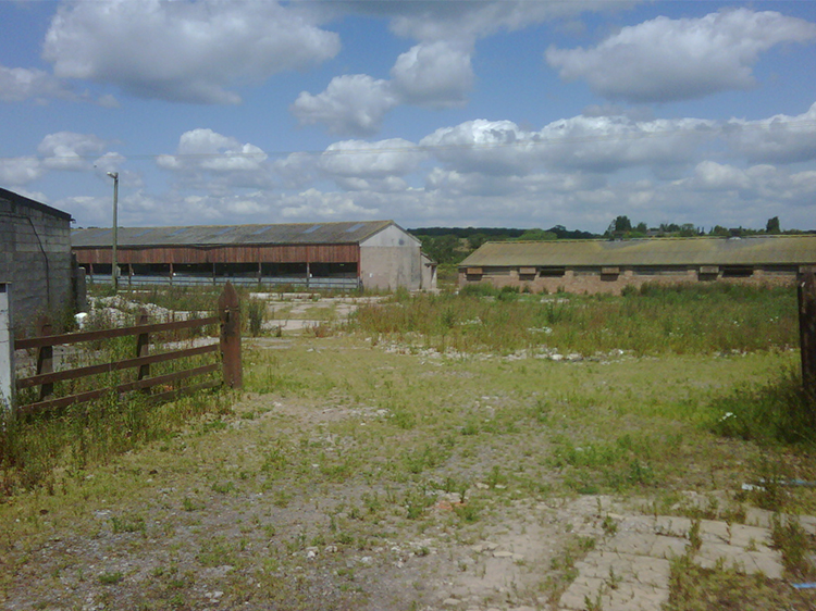 Canine Partners Midlands Centre site when it was first purchased in 2012