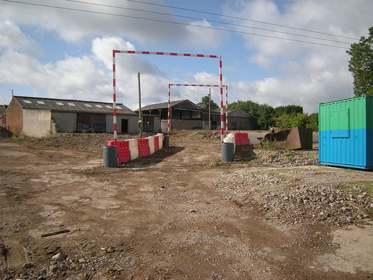 Canine Partners Midlands Centre site in August 2013