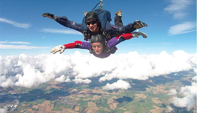 John Evans skydiving to raise money for Canine Partners