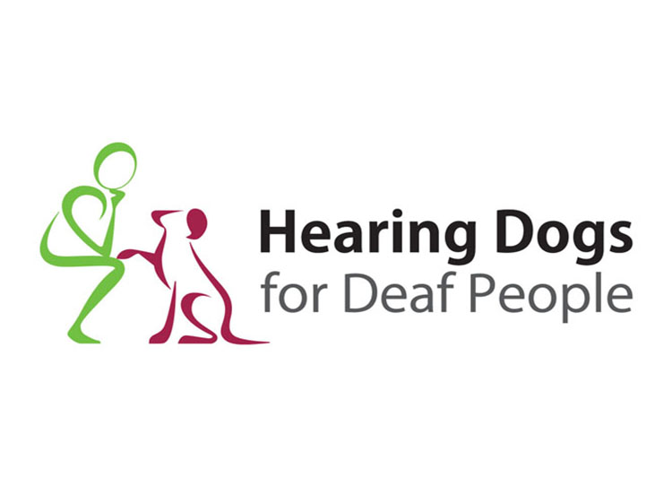 Hearing Dogs for Deaf People logo