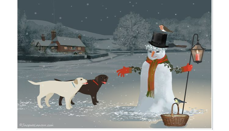 Email Christmas Cards.A Big Thank You To Jacquie Lawson For Launching A Canine