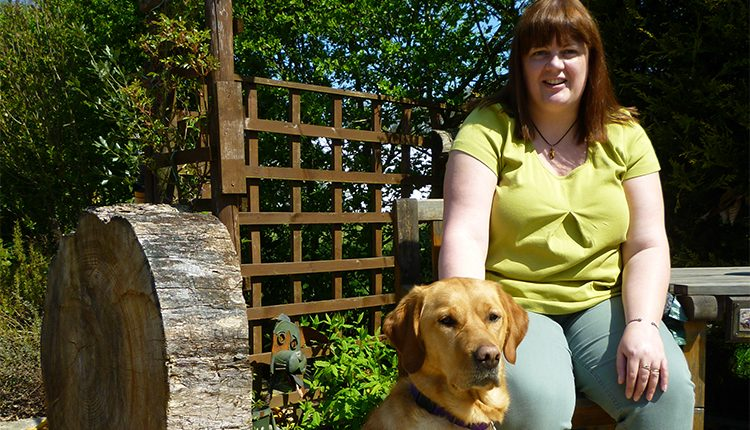 Kitty and her assistance dog Emma are selected as finalists in 2006 Broon Awards