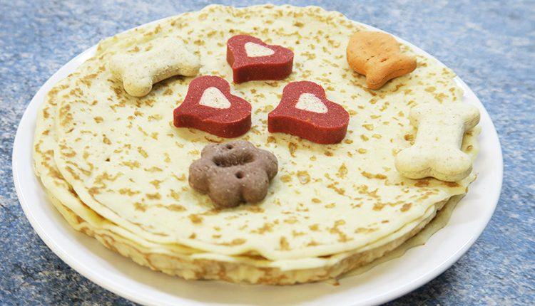 Dog Friendly Pancakes Recipe
