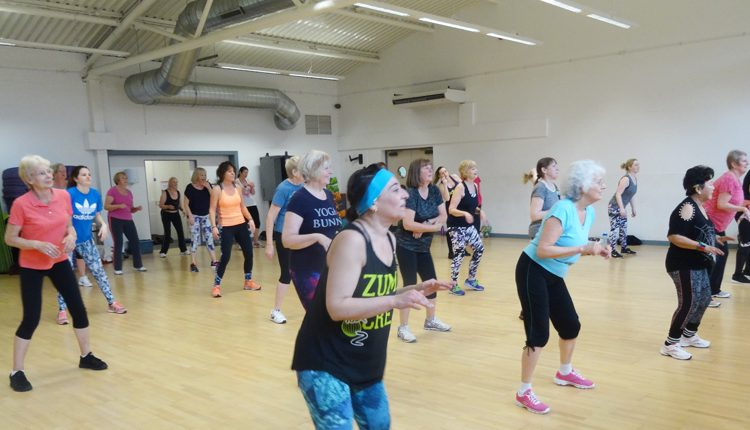 Loughborough Inner Wheel zumbathon fundraiser for Canine Partners