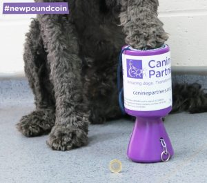 Donate your new £1 coin to Canine Partners