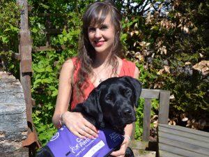 Sally and canine partner Ethan