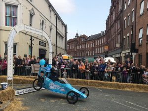 The Insurance Emporium at the Micklegate Soapbox Challenge 2018 raising funds for Canine Partners