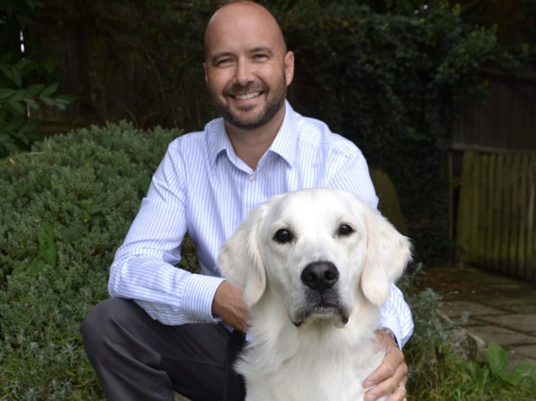 Canine Partners Director of Operations Richard Smith