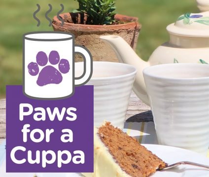Paws for a cuppa campaign