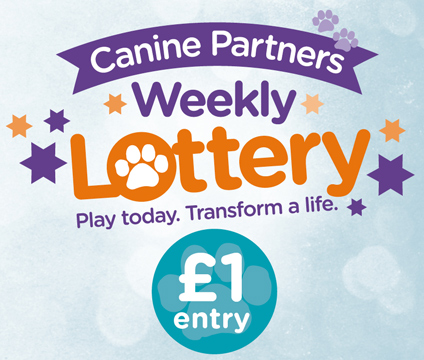 Canine Partners' Weekly Lottery
