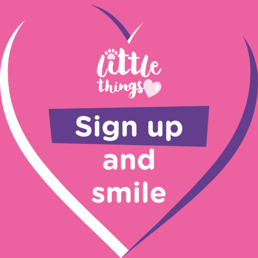 Little Things: Sign up and smile