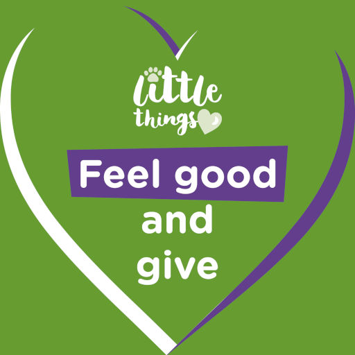 Little Things: Feel good and give