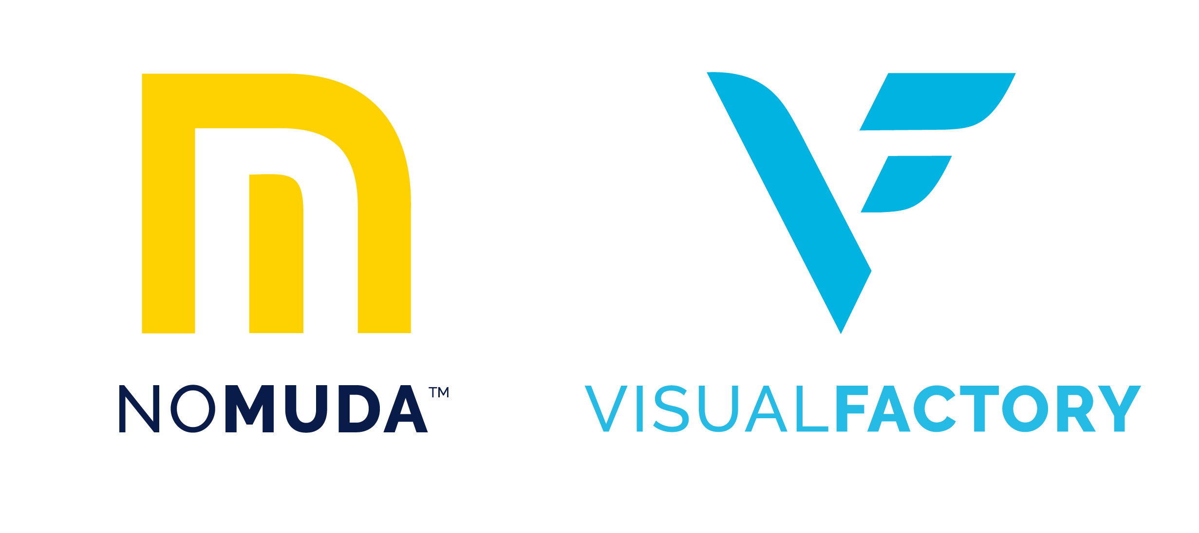 NoMuda VisualFactory logos