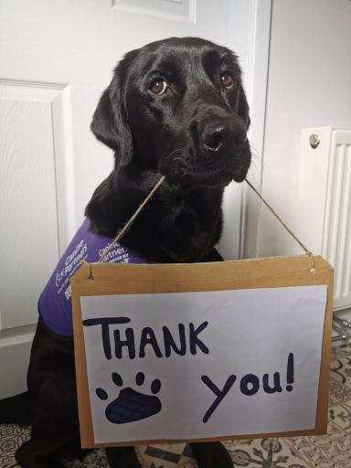 CP Cedar saying thank-you