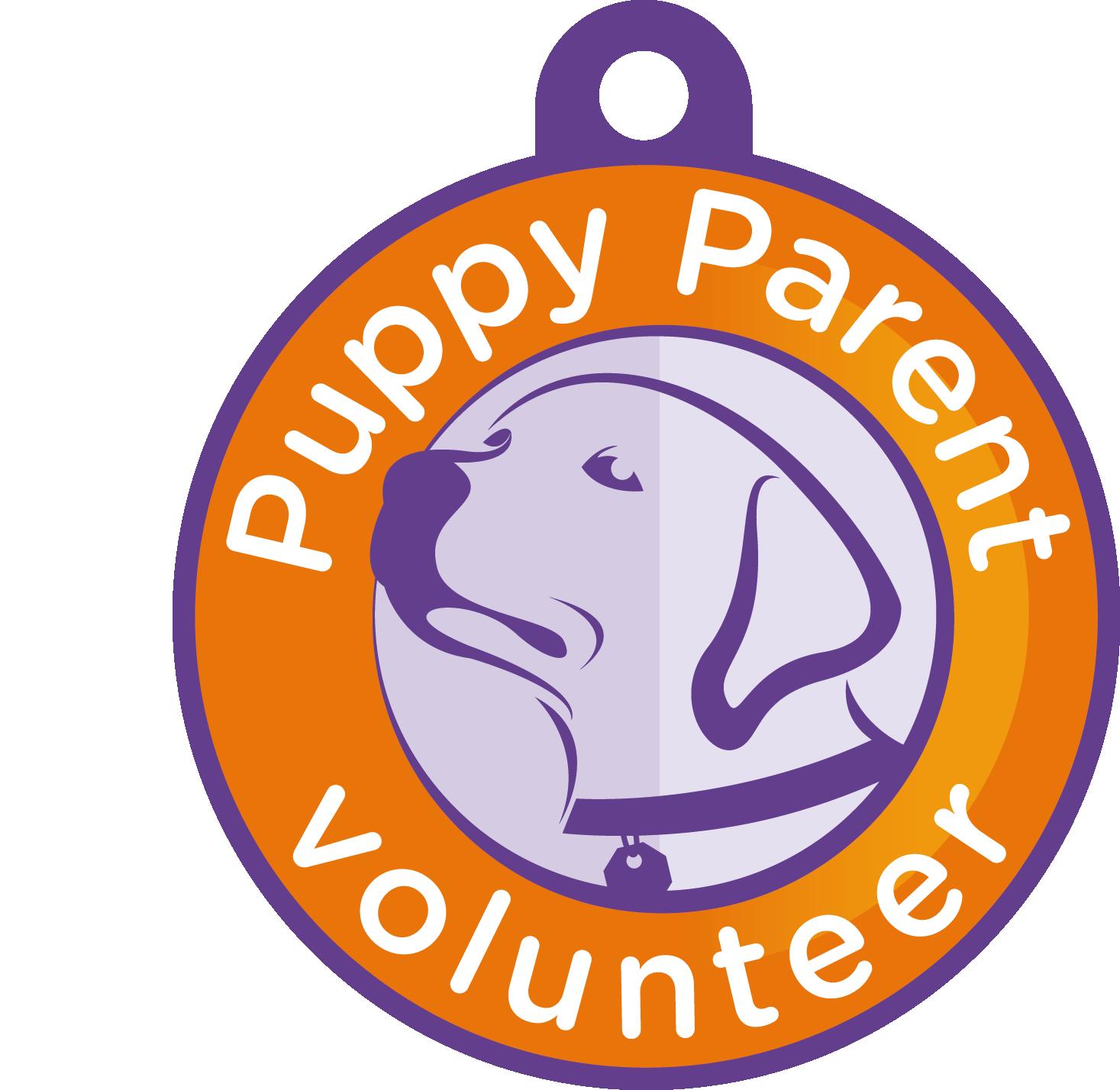 Puppy Parent Volunteer badge
