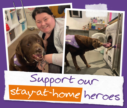 Support our stay-at-home heroes small tile